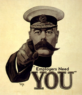 kitchener picture with the message employers need you